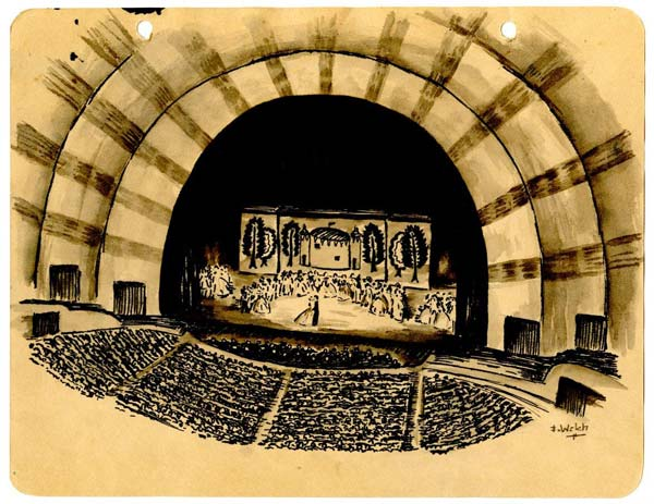 Frank's Radio City Music Hall Sketch